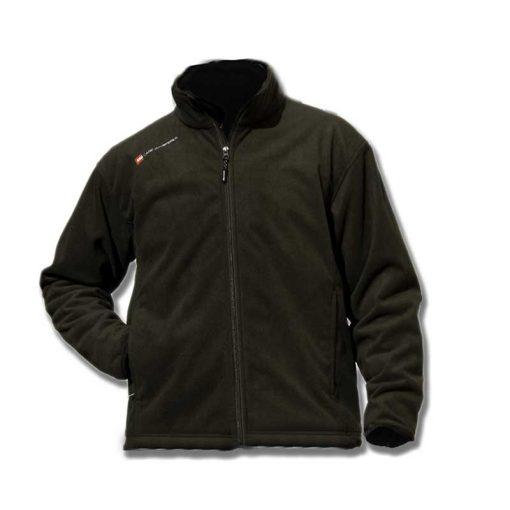 Heerlijk fleece jas speciaal voor het vissen