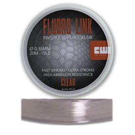 Fluoro link is een fluoro carbon vislijn speciaal om karper onderlijnen te maken