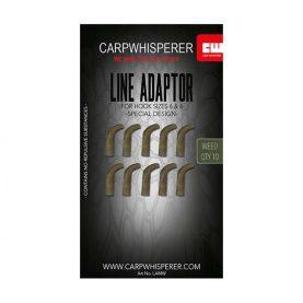line adaptor is een line aligner voor de longshank en bow haken