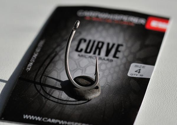 Curve shank karperhaak