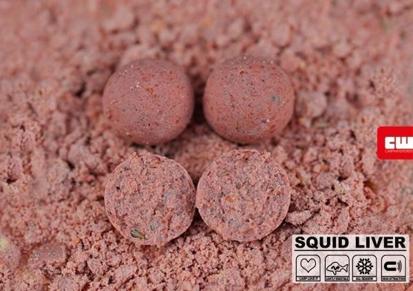 Squid boilies zijn zowel bij de karpers als ook bij veel vissers favoriet!
