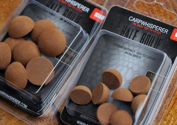 Naast de roze kleur zijn de high density half popups ook verkrijgbaar in bruin.